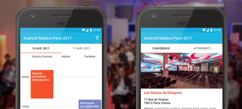 Application Android Makers